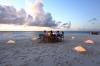 Индивидуальный ужин на пляже
